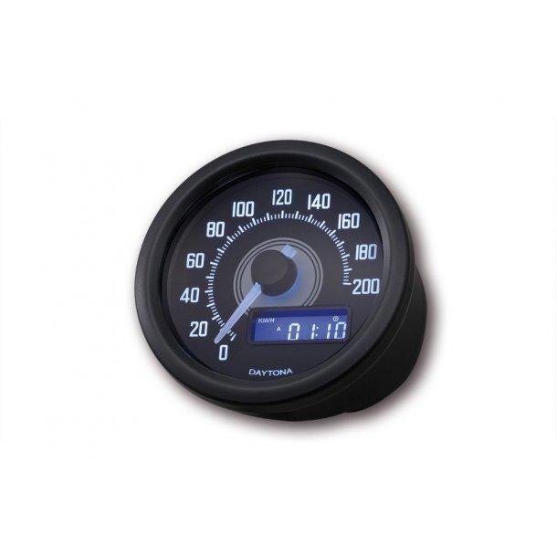 Daytona Velona Speedometer 0-200 Sort