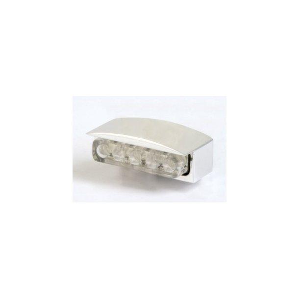 Paaschburg- LED nummerpladelys - Alu