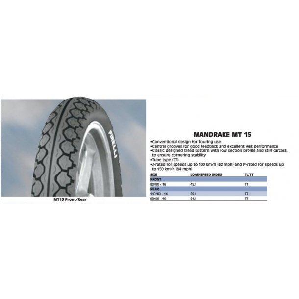 Pirelli - Mandrake MT15
