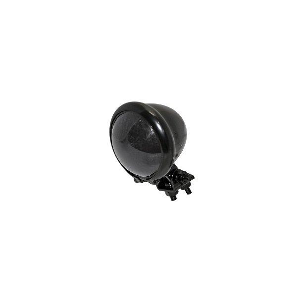 P&W LED baglygte - BATES Sort / Tonet