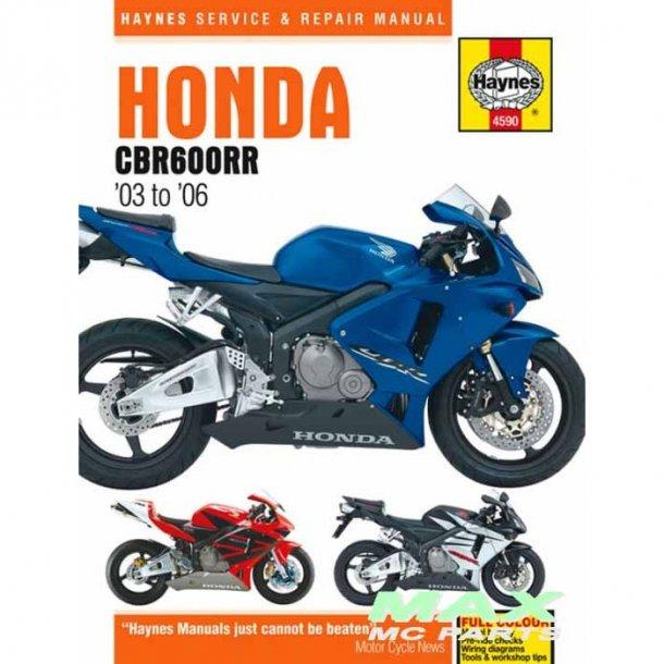 Haynes værksteds bog Honda Modeller