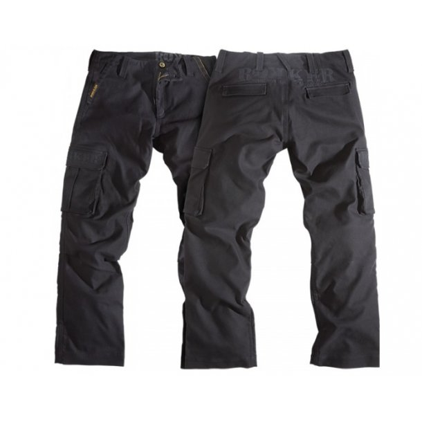 Rokker - Sort Black Jack Cargo Buks