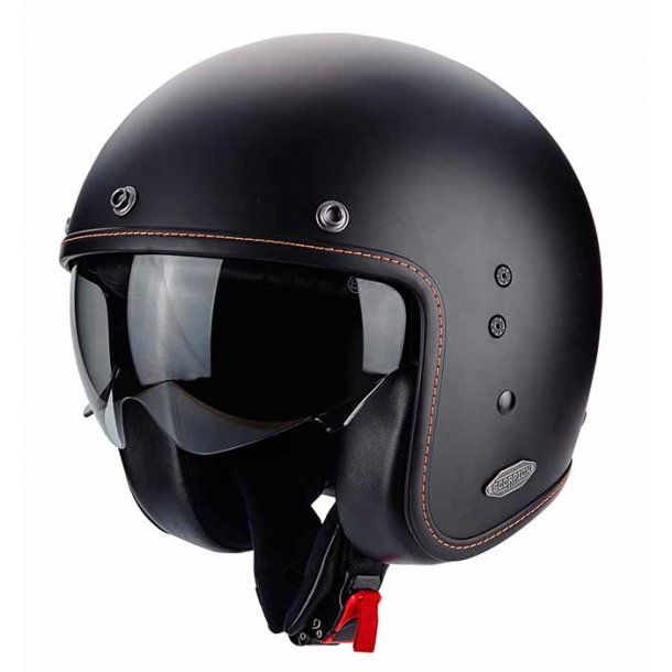 Scorpion Belfast Solid Mat Black Hjelm