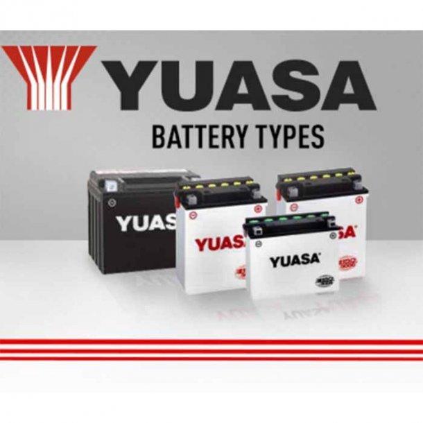 Yuasa Batterier Yamaha Modeller